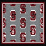 NC State Wolfpack Logo Repeat Rug