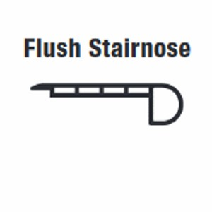 Accessories Flush Stairnose (Sand Dollar)