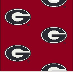 Collegiate Repeating Georgia Dawgs