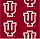 Milliken Carpets: Collegiate Repeating Indiana Hoosier