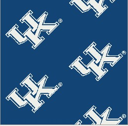 Collegiate Repeating Kentucky Blue