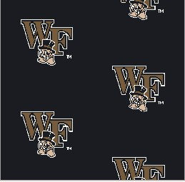 Collegiate Repeating Wake Forest Deacs