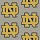 Milliken Carpets: Collegiate Repeating Notre Dame (Grey)
