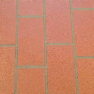 Sienna Brick Permastone Modular Tarkett Luxury Floors Luxury Vinyl